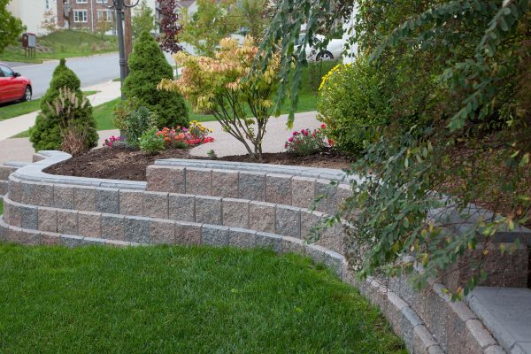 Allan Block Ab Junior Garden Wall Stone Shaw Brick