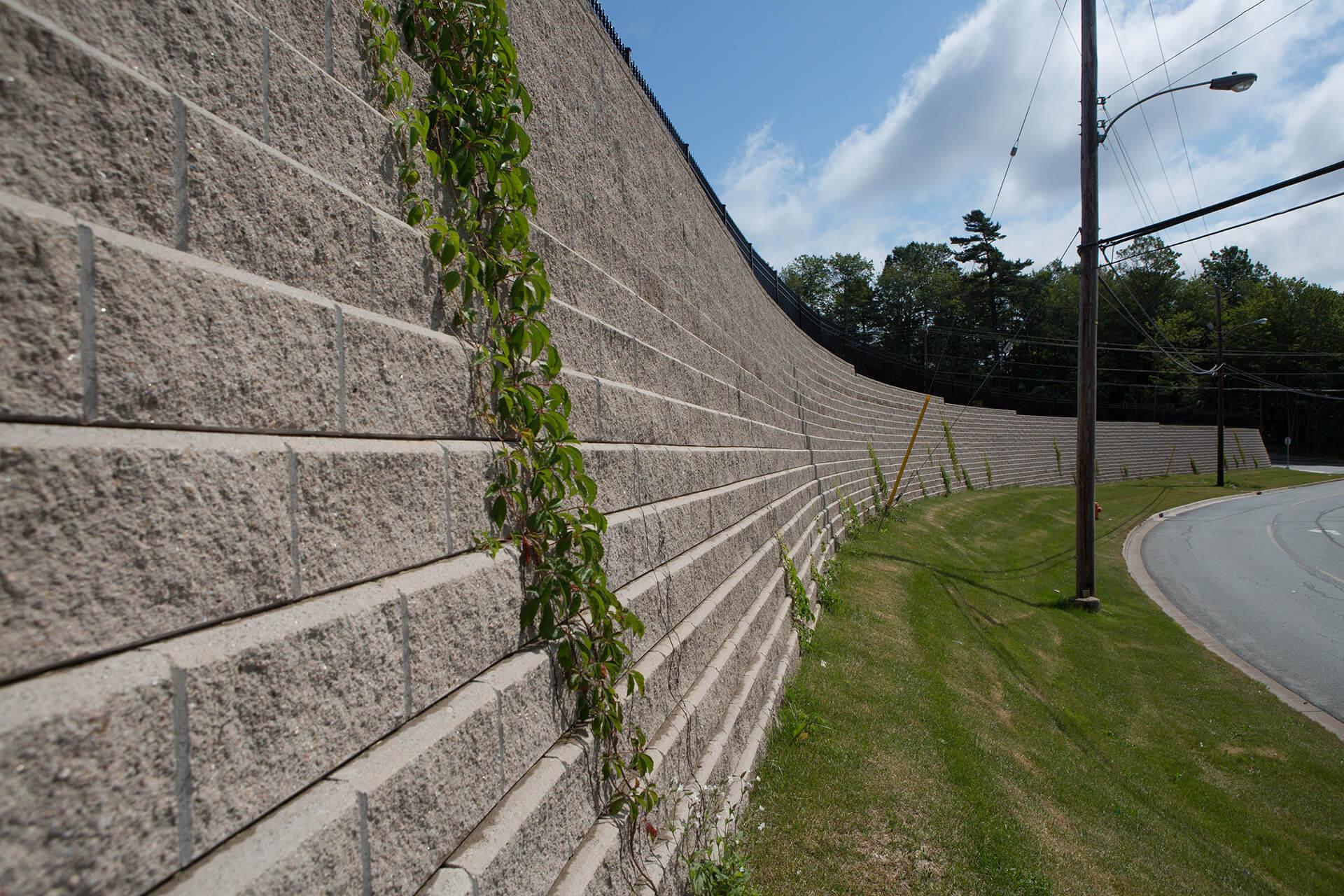Retaining Wall Blocks Allan Blocka Ab Stones Shaw Brick