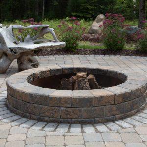 Fire Pits | Windmill Outdoor Fireplace Kit | Shaw Brick