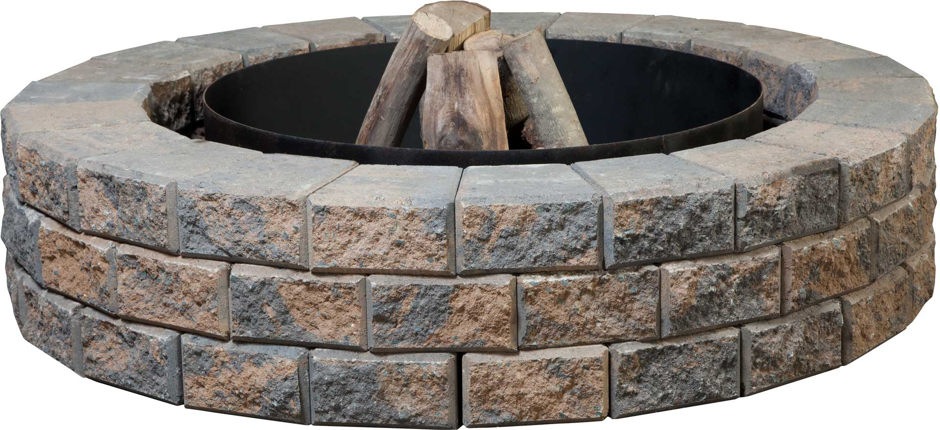 fire pits nantucket stackstone fire pit kit shaw brick. Black Bedroom Furniture Sets. Home Design Ideas