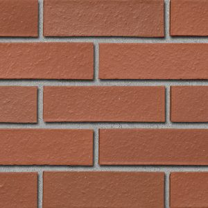 Colour sample of Shaw Brick's Smooth Clay Brick in Red Range