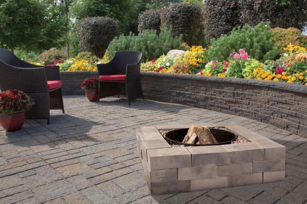 Fire Pits Amesbury Outdoor Fireplace Kit Shaw Brick