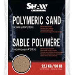 22.7 kg bag of Shaw Brick's Polymeric Sand