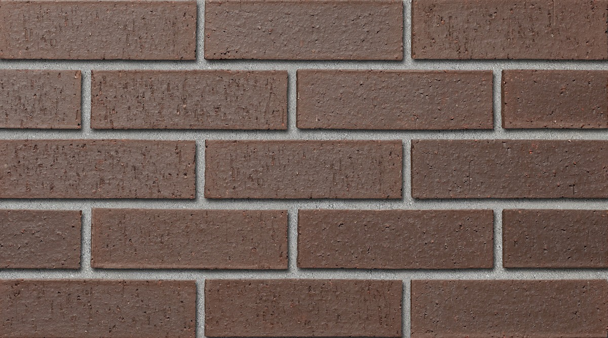 Colour sample of Shaw Brick's Tapestry Clay Brick in Charcoal