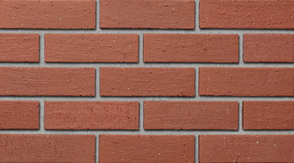 Colour sample of Shaw Brick's Tapestry Clay Brick in Red